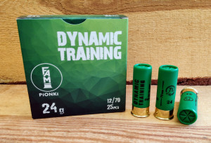 Amunicja PIONKI 12/70 Dynamic Training 24g 2,4mm